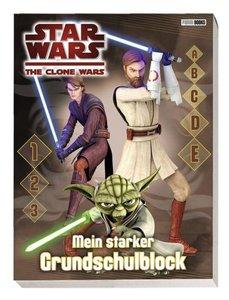 Star Wars The Clone Wars. Mein starker Grundschulblock