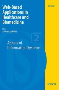Web-Based Applications in Healthcare and Biomedicine