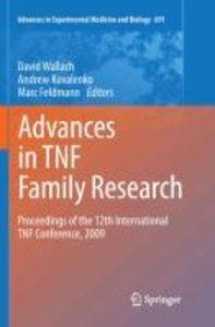 Advances in TNF Family Research