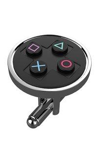PlayStation - Buttons Manschettenknöpfe/Cufflinks, schwarz (Offi