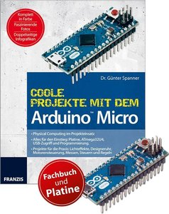Coole Projekte mit dem Arduino Micro + Original Arduino Micro Pl