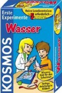 Kosmos 602031 - Erste Experimente: Wasser