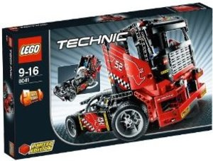 LEGO® Technic 8041 - 2-in-1 Set: Renn Truck, Race Truck,