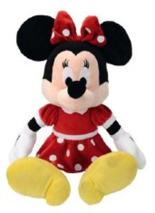 Simba 6315878983 - Disney: Minnie, Red Dress, 50 cm