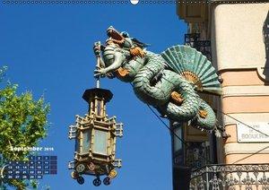 Barcelona erleben (Wandkalender 2016 DIN A2 quer)
