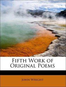Fifth Work of Original Poems