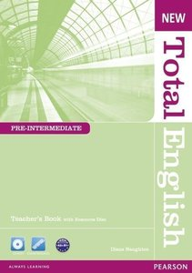 New Total English Pre-Intermediate Teacher's Book (with Active T