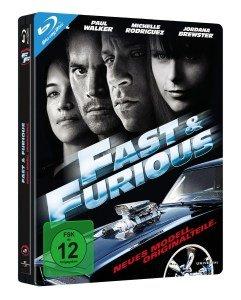 Fast & Furious 4 Steelbook