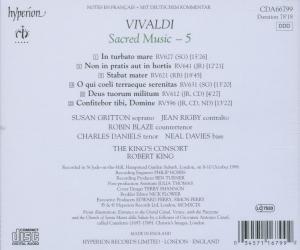 Kirchenmusik,Vol.5