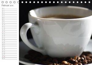 Kaffee-Pause Terminkalender (Tischkalender 2016 DIN A5 quer)