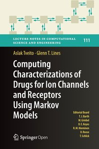 Computing characterizations of drugs for ion channels and recept