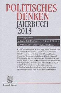 Politisches Denken. Jahrbuch 2013