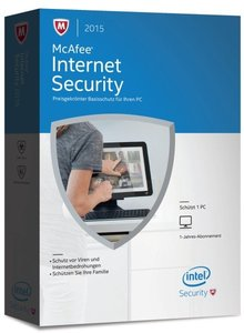 McAfee Internet Security 2015 1PC