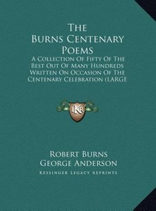 The Burns Centenary Poems