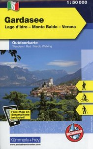 KuF Italien Outdoorkarte 07 Gardasee 1 : 50.000