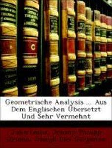 Geometrische Analysis ... Aus Dem Englischen Übersetzt Und Sehr