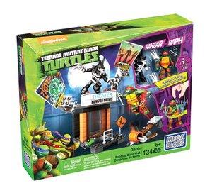 Mattel Mega Bloks TMNT Coole Angriffsaction