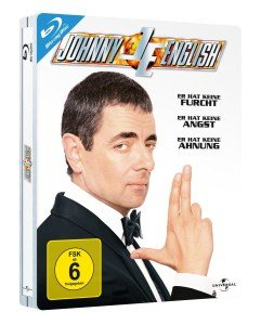 Johnny English Steelbook