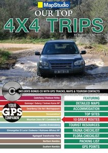 South Africa / Namibia -Top 4x4 Trips 1 : 1.500 000 - 1 : 3.50