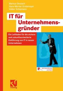 IT-Planung für Unternehmensgründer