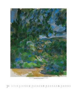 Paul Cézanne 2015. Kunst Art Kalender