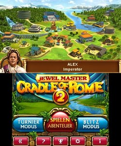 Jewel Master - Cradle of Rome 2 in 3D (3DS)
