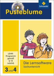 Pusteblume. Das Arbeitsbuch Sachunterricht 3 / 4. CD-ROM. Allgem