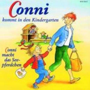 Conni 1 kommt in den Kindergarten. Conni macht das Seepferdchen.