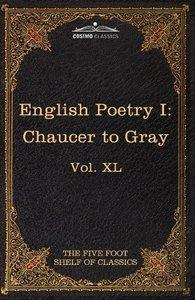 English Poetry I