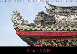Vietnam (UK-Version) (Wall Calendar 2016 DIN A3 Landscape)