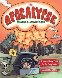Post-Apocalyptic Colouring and Activity Book