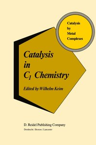 Catalysis in C1 Chemistry