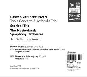 Triple Concerto & Archduke Trio