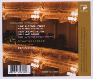 Eine Alpensinfonie op.64/Vier letzte Lieder
