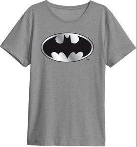 Batman - T-Shirt - Größe M - grau