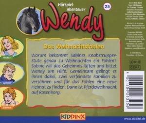 Wendy 25. Das Weihnachtsfohlen. CD