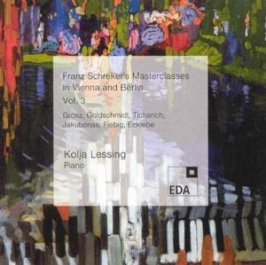 Franz Schreker's Masterclasses in Vienna/Berlin 3