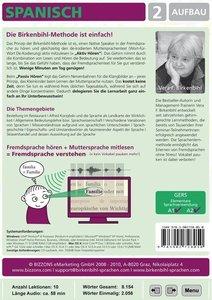 Spanisch lernen 2. Aufbau. CD-ROM