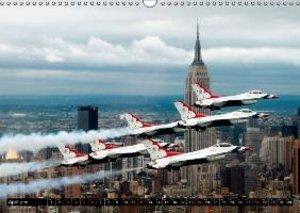 U.S. Aircraft - Fighting Jets (Wall Calendar 2015 DIN A3 Landsca