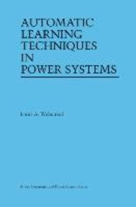 Automatic Learning Techniques in Power Systems
