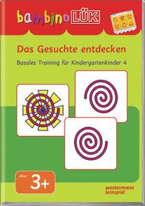 LÜK Bambino. Das Gesuchte entdecken: Basales Training 4