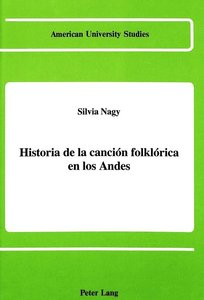 Historia de la canción folklórica en los Andes