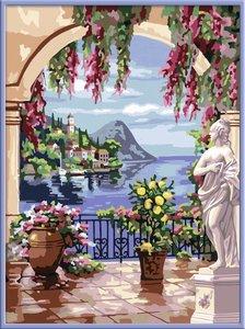Am Lago Maggiore. Malen nach Zahlen Serie Premium
