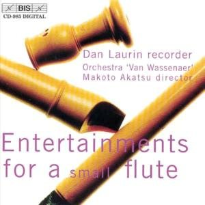 Entertainments For small flute
