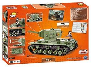 COBI 3004 - KV-2, World of Tanks, Small Army, grün