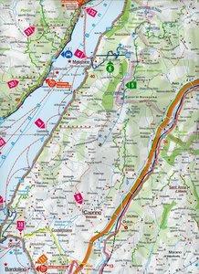 MARCO POLO Freizeitkarte 117 Gardasee 1 : 100 000
