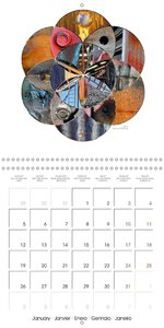 Geometry of the Sacred (Wall Calendar 2015 300 × 300 mm Square)