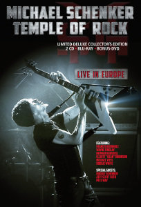 Temple Of Rock-Live In Europe
