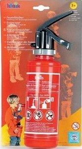 Theo Klein 8940 - Feuerlöscher, 30 cm, 0,5 Liter mit Spritzfunkt