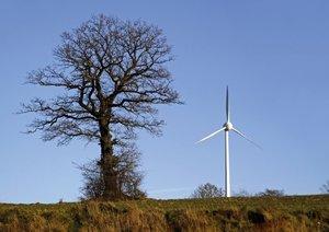 Windkraftanlagen (Posterbuch DIN A3 quer)